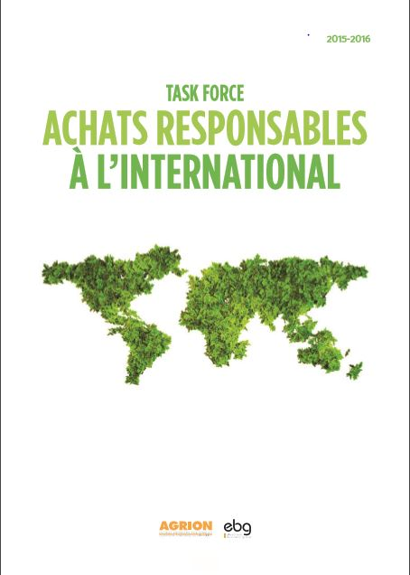 Livrable Achats Responsables à l'International